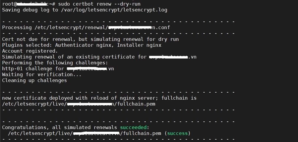 Hướng dẫn cài đặt SSL Let's Encrypt trên Nginx cho Odoo chạy Ubuntu